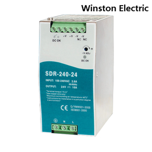 SDR-240 240W Din rail power supply