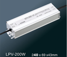 LPV-200W LED constant voltage waterproof switching power supply