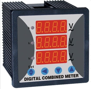 WST294Z 3 Phase Digital combined Voltmeter