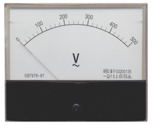 59L1 Moving Coil instrument AC Voltmeter