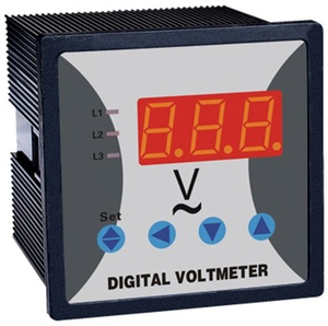 WST292U 3 Phase digital voltmeter one display window