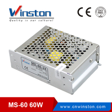 CE ROHS MS-60W 100V - 220V AC /DC 5V 12V 15V 24V Converter / Switching Power Supply