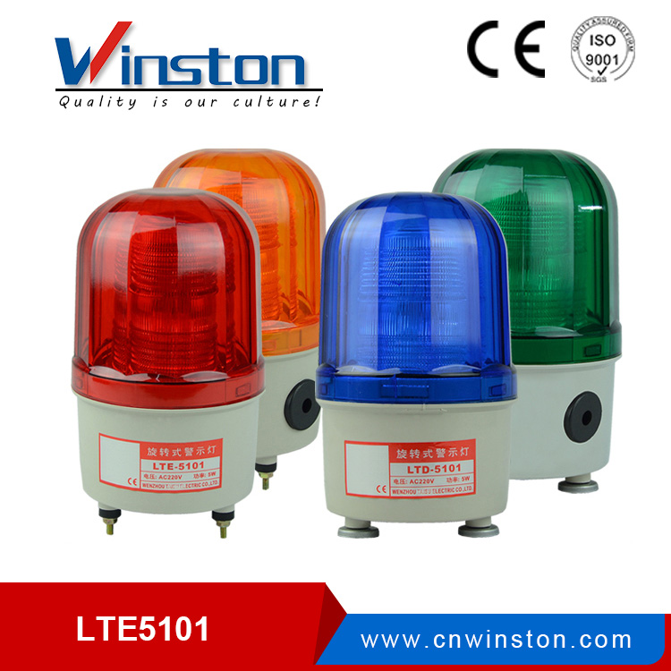LTD-5101J led flash warning light for mechanicals with buzzer