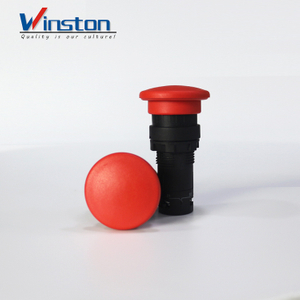 mushroom push button Push button switch self-reset 22mm