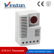 ETR 011 compact design din rail mountable electronic thermostat