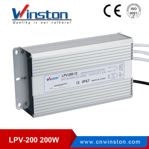 Waterproof Single Output Power Supply Apply To LED Light - LPV 200W
