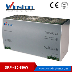 WINSTON Single output din rail dc led driver DRP-480-48 480W 48V