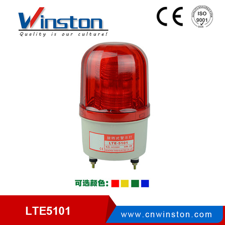 LTE-5101J led flash warning light DC12V 24V AC110V 220V with buzzer