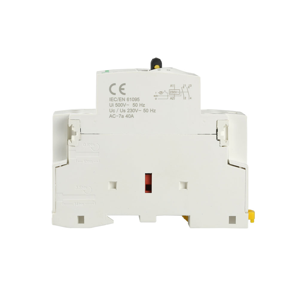 Household WCT Magnetic 40A 1P Electrical Contacts / DC Contactor
