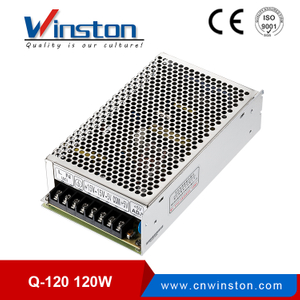 Widely Used Quad Voltage Output LED Driver Power Supply Unit Q-120W