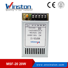 CE ROHS 20W DC 5V/4A 12V/2A 15V/1.6A 24V/1A Single Output Ultrathin Power Supply With 2 years Warranty