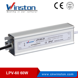 Mini waterproof led driver 60w led power supply with ce