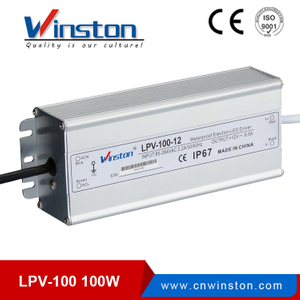 LPV-100W Waterproof switching power supply led driver with CE