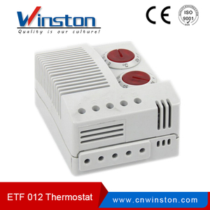 ETF012 wide adjustment ranges electronic hygrotherm