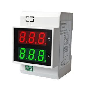 D52-2042 Din Rail Digital Ammeter And Voltmeter