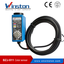 Winston BZJ-511 9mm NPN output Coaxial reflection Color mark sensor