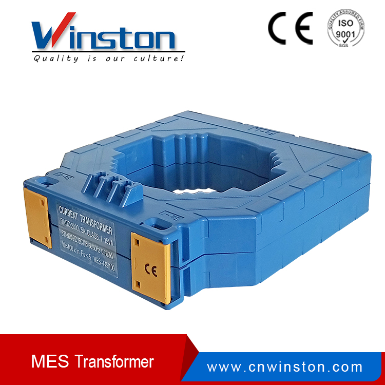 Mes-145/100 Series 800/5A to 3000/5A DIN Rail Current Transformer
