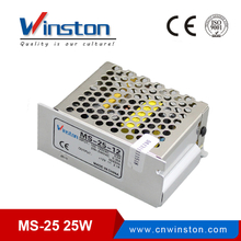 CE Rohs MS-25 25W 12V mini body single output ac dc converter / power supply with 2 years Warranty