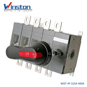 WOT 315A 400A Load Isolator Switch Disconnector