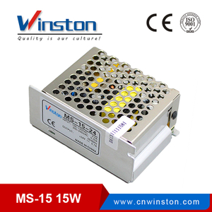 CE ROHS Approved MS-15W Mini Size LED Switching Power Supply Unit / adapter with CE
