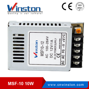 CE ROHS 10W MSF-10 Series Mini Ultrathin Switching power supply/LED SMPS