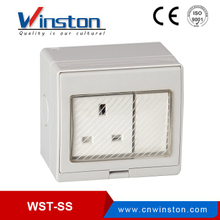 WST-SS Surface Mounted Waterproof Switch Socket IP55