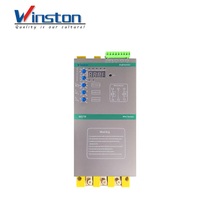 5.5kw - 55kw intelligent 3 Phase Motor Soft Starter with bypass contactor 220V