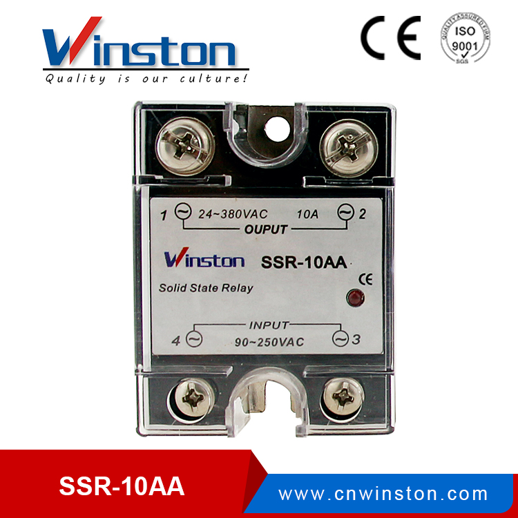 SSR- 10AA electronics solid state relay circuit