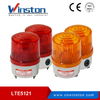LTE-5121J Red Strobe warning light with siren