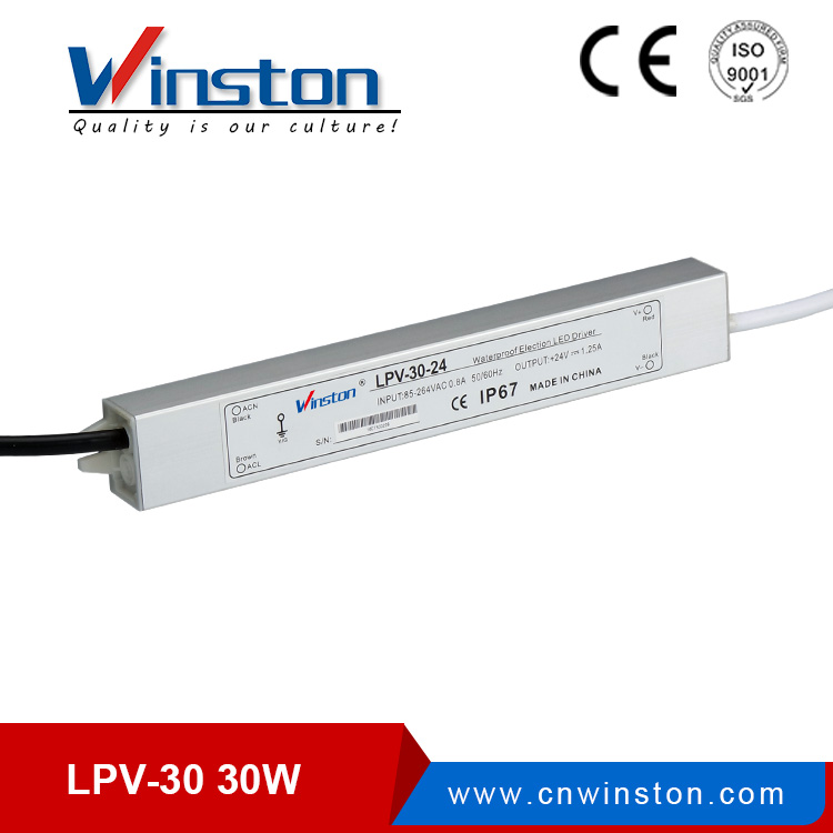 waterproof LPV-30W led power supply for led strips