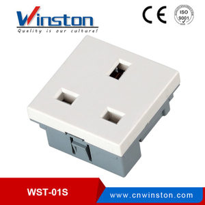 WST-01SR Electric Wall Mounted British Type Waterproof Socket