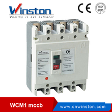 China 3P 4P WCM1 Series MCCB Moulded Case Circuit Breaker