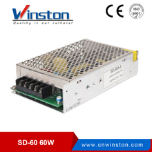 Winston SD-60W 60w 9-114vdc in single 50w 5v 12v 24v dc to dc converter