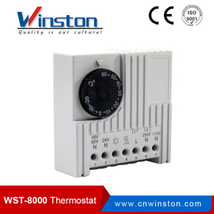 Mechanical / Electronic Heater Thermostat For Controlling Fan Filter And Heater (WST-8000 / SK3110)