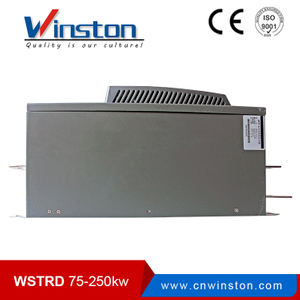 Winston 75kw run motor soft drive for crusher
